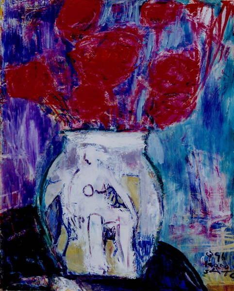 花與容器A