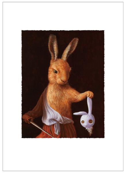 大衛兔拿著玩偶兔的頭(1/99)