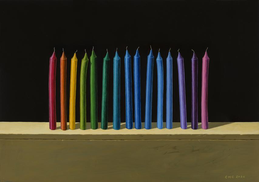 疊構XIV-蠟燭